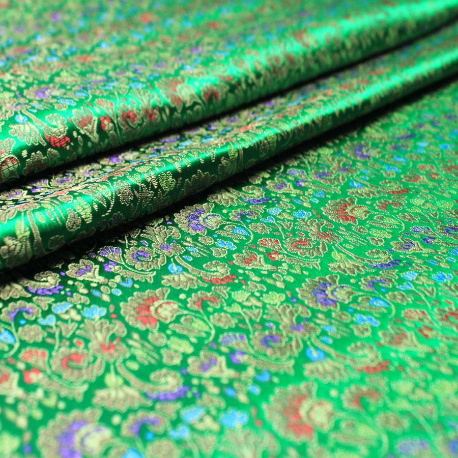 Brokat bahan kain kostum pakaian adat Tiongkok Gaun Malam Baju boneka  kimono COS Tingkat tinggi Pakaian 335b4bded1