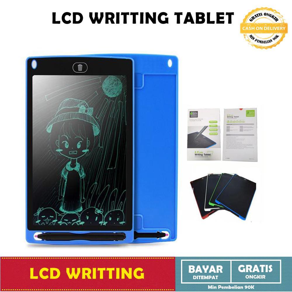 Papan Tulis Gambar Portable - LCD Drawing Writing Tablet 8,5 Inch