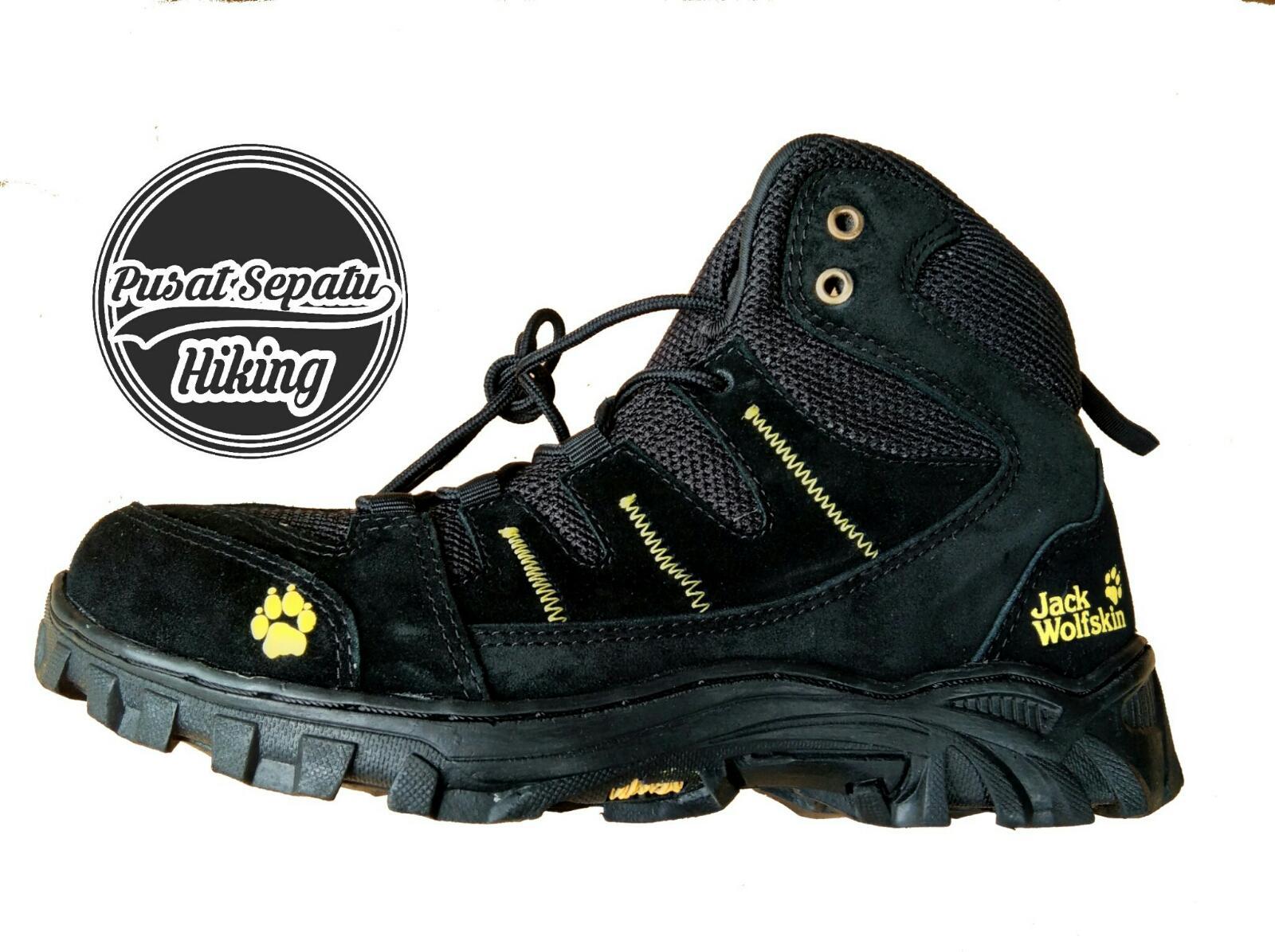 Sepatu Gunung Pria – Sepatu Jack Wolfskin – Sepatu Hiking – Sepatu Tracking  – Sepatu Proyek – Boots – Waterproof e9595023bc
