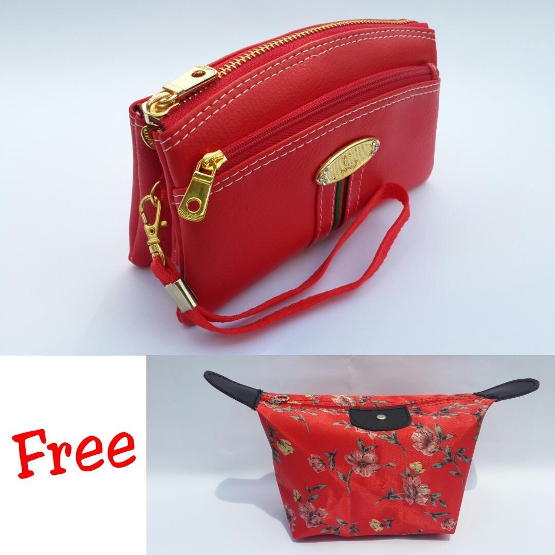 Lufas T802 Tas Wanita / Dompet wanita terbaru / lazada dompet wanita / model dompet wanita / dompet wanita kulit