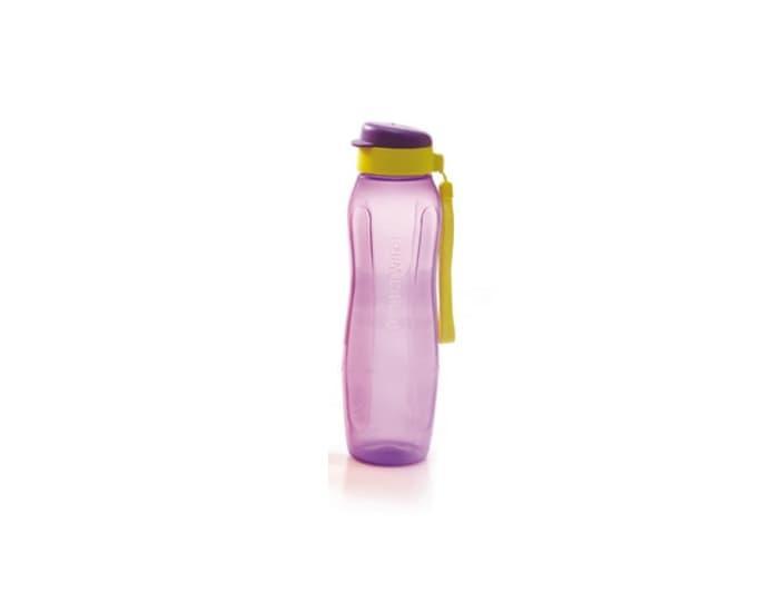 New Eco Bottle 1L 1 L Botol Minum Ungu Tupperware