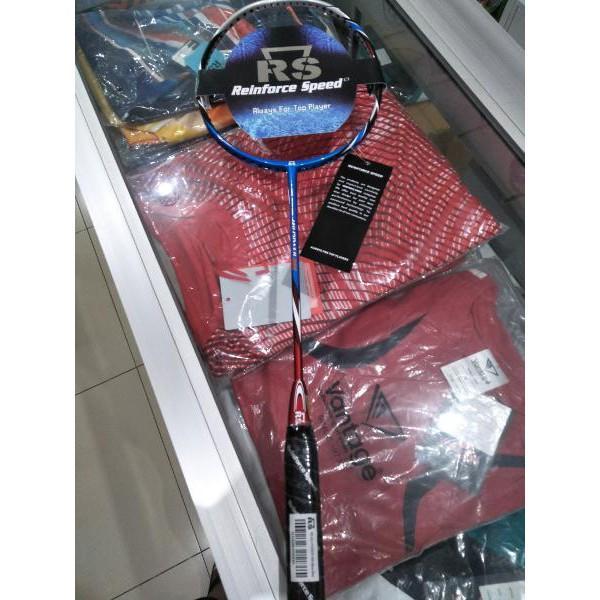 Terbaru Raket Badminton RS Iso Power 666 Bonus Tas Kaos Senar Lengkap Original