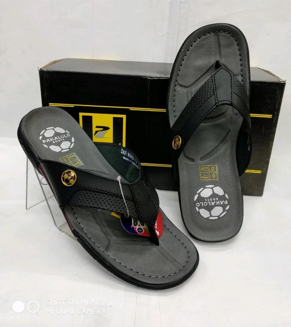 Sandal Kulit Pakalolo N0931 - Black
