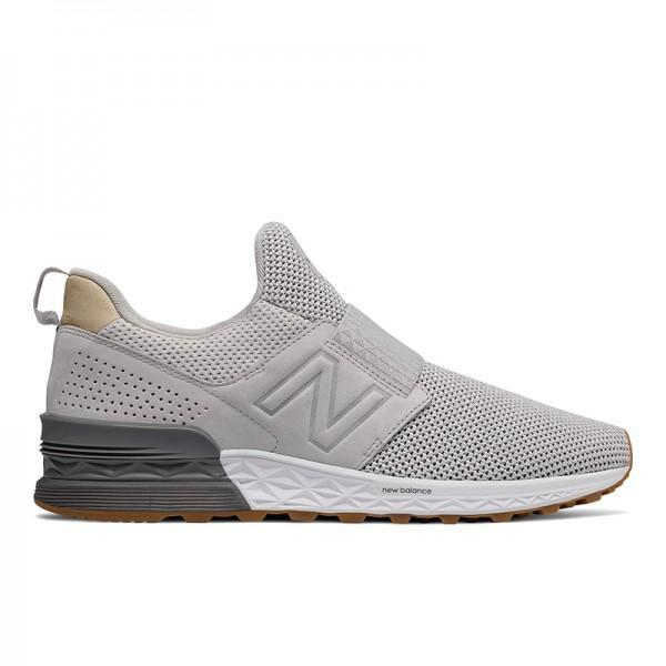 New Balance 574 LUXE PACK Men s Sneakers Shoes - Grey fe695e3940