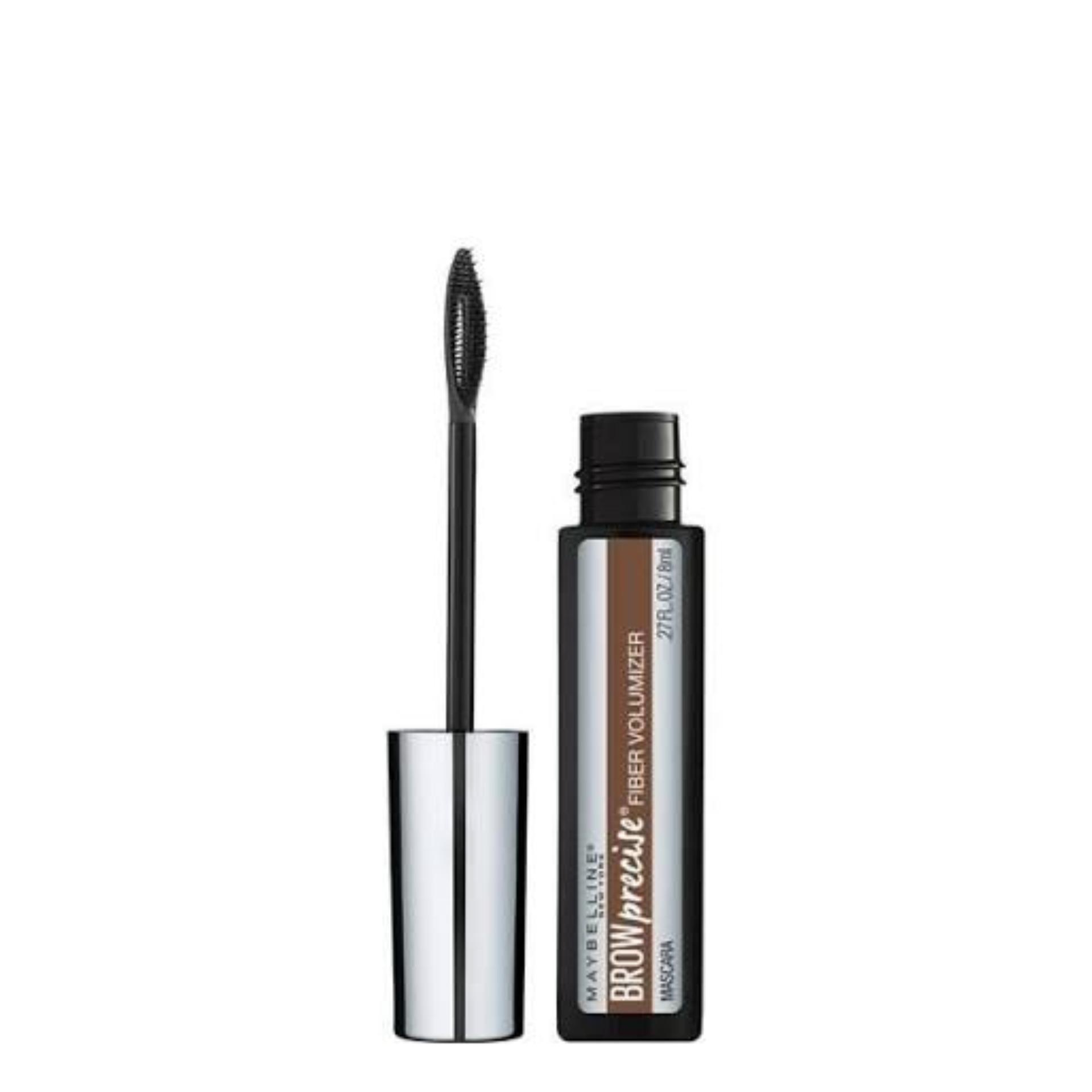 Maybelline Fashion Brow Precise Fiber Volumizer Brow Mascara Alis Eyebrow Eye Brow - #260 Deep Brown Dark Brown