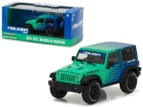 TERLARIS Greenlight 1/43 2014 Jeep Wrangler Rubicon Falken