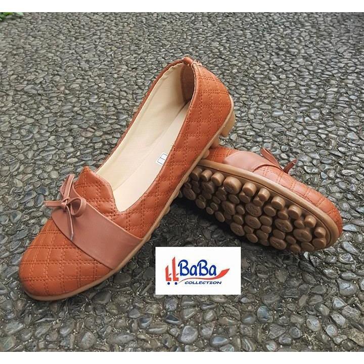 BaBa Sepatu Wanita / Sepatu Flat Wanita / Sepatu Slip On Wanita / Sepatu Kets Wanita / Sepatu Sneakers Wanita / Sepatu Murah / Flatshoes Wanita Motif Kulit Ular