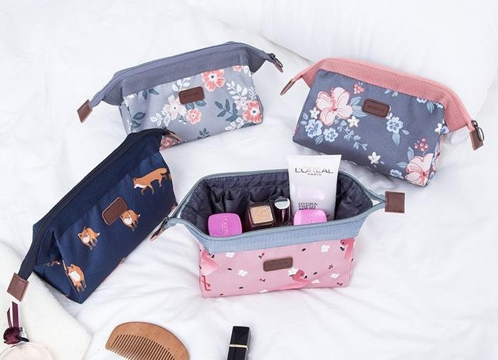 Weekeight Charming Water Resistant Cosmetic Cube Pouch Ver 2 / Tas By Yurah Shop.