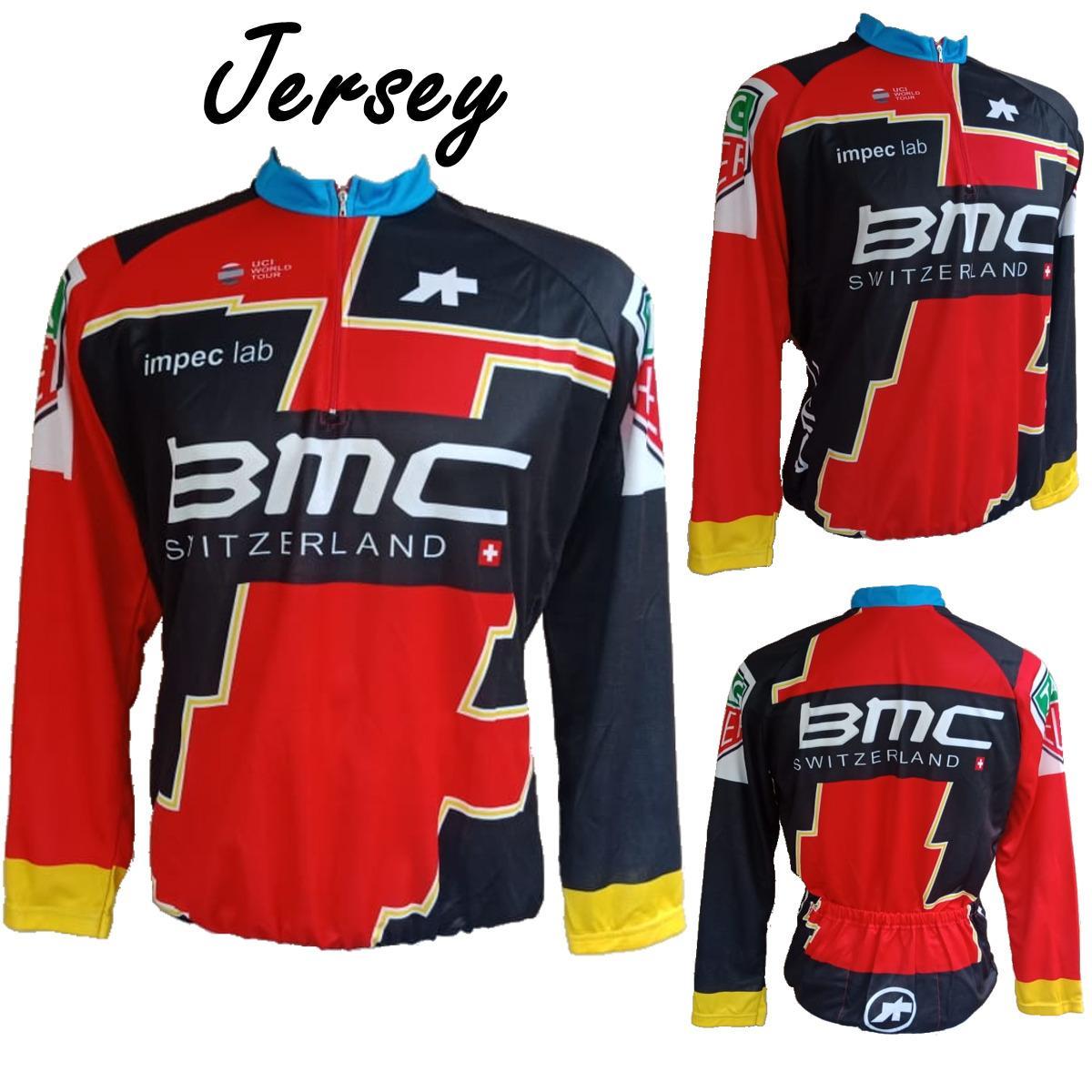 Baju Jersey Sepeda BMC XC Roadbike