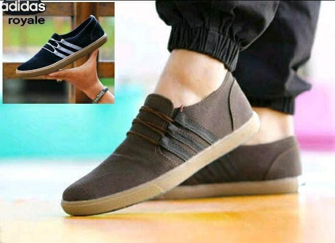 PROMO!!! adidas slip on slop bloes sepatu pria wanita casual san Murah - 6fac3a4b87