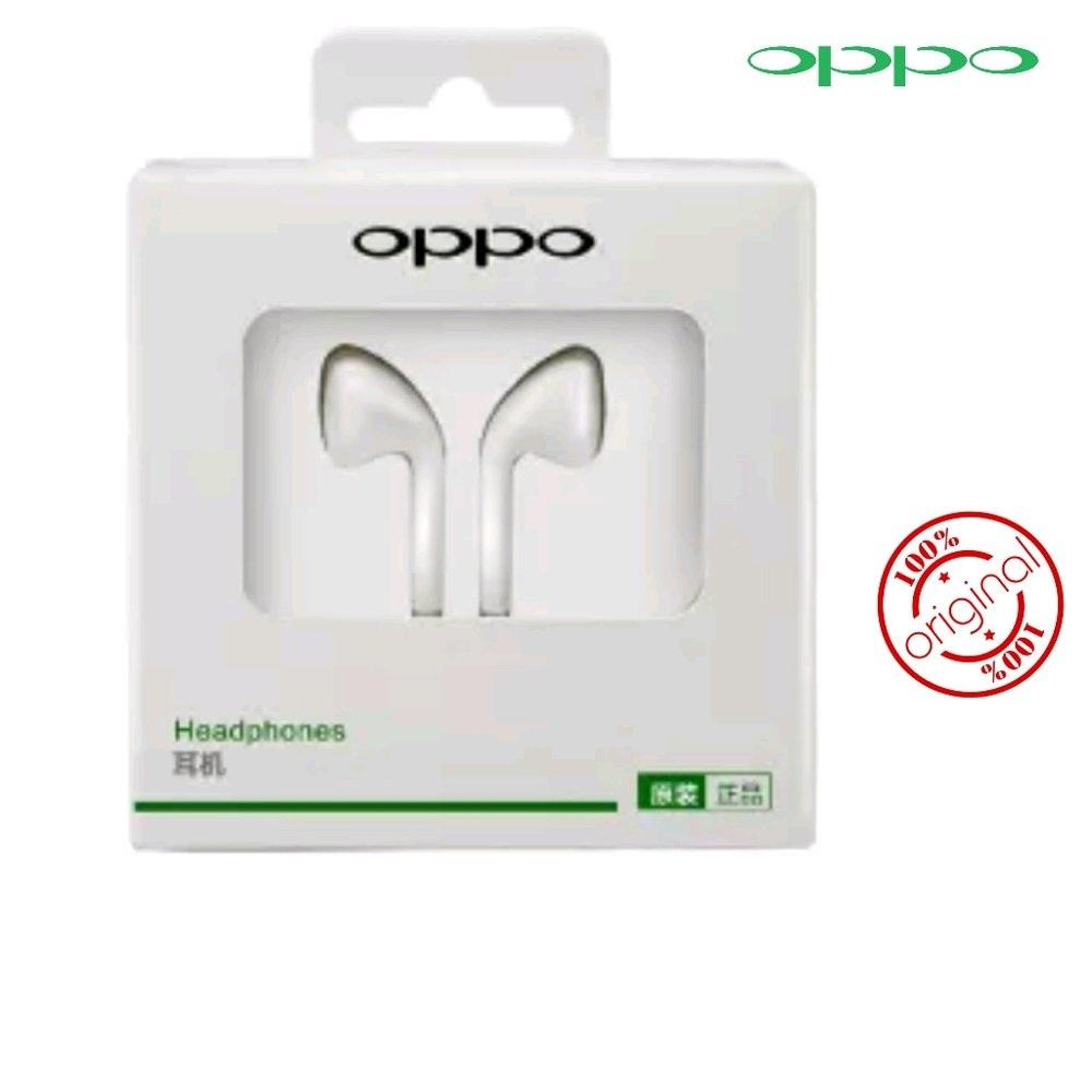 Headset Oppo Original - Earphone Hedset Handsfree Enset Handset A37 A39 F1S F3 F1 Plus A57