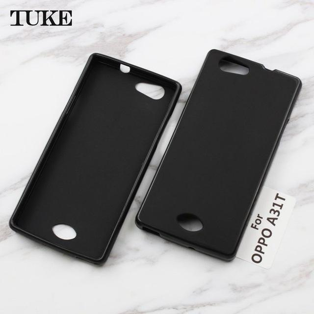 Case Slim Black Matte Oppo Neo 5 A31 Softcase Black
