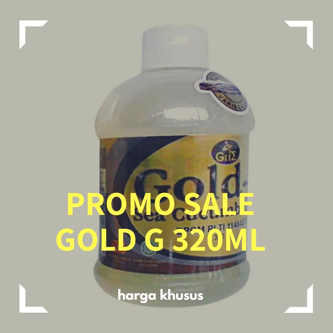 Buy Sell Cheapest Gold G 320ml Best Quality Product Deals Jelly Gamat 320 Ml Promo