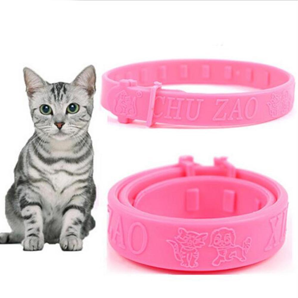 Fashion Cats Soft Silicone Pet Cats Flea Collar Reject Tick Mite Louse Kitten Collar