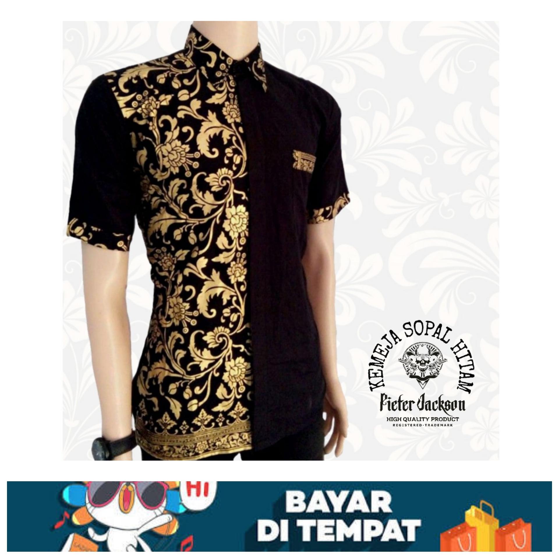 Model Baju Batik Terbaru Modern Masa Kini Pria