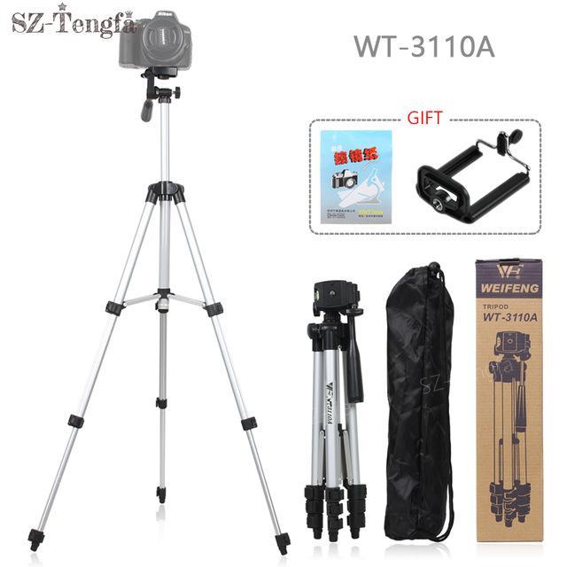 Weifeng Tripod WT-3110A - Tripod Untuk Hp dan Kamera Universal + Free Holder U