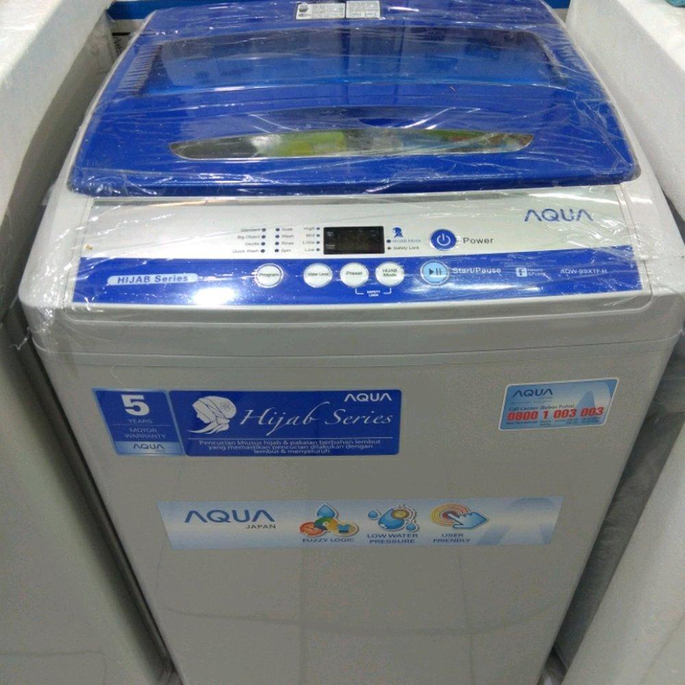 Mesin Cuci Sanyo Aqua 1 Tabung 99XTF 9Kg