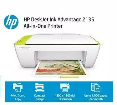 TIDAK MACET & HEMAT TINTA - BEST ITEM DI KELASNYA - PRINTER HP DESKJET 2135 INK ADVANTAGE - ORIGINAL