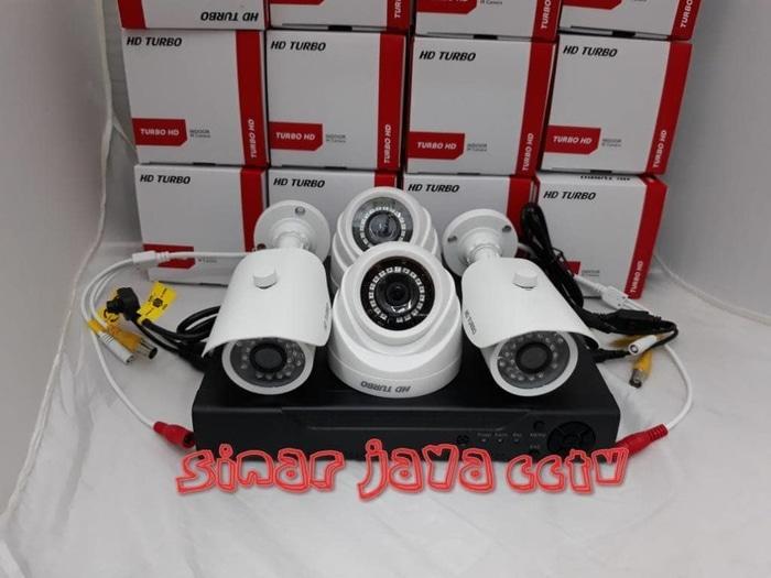 Banyak diCARI PAKET CCTV 4CAMERA TURBO HD 3MP (KMPLIT TGGL PSNG)