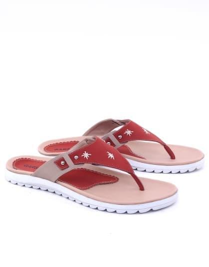 Sandal wanita/sandal perempuan Sandal Wanita Casual Trendy Sendal Jepit Cantik keluaran terbaru model terbaru kualitas bagus harga murah warna merah
