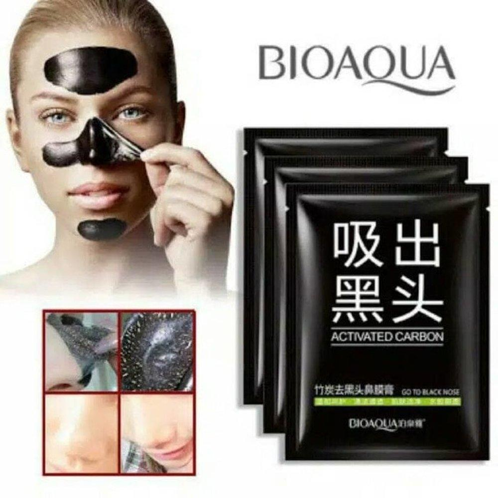 Buy Sell Cheapest Bioaqua Carbon Penghilang Best Quality Product Brighteyes Ball Design Mata Panda Recommended Activated Black Mask Masker Komedo