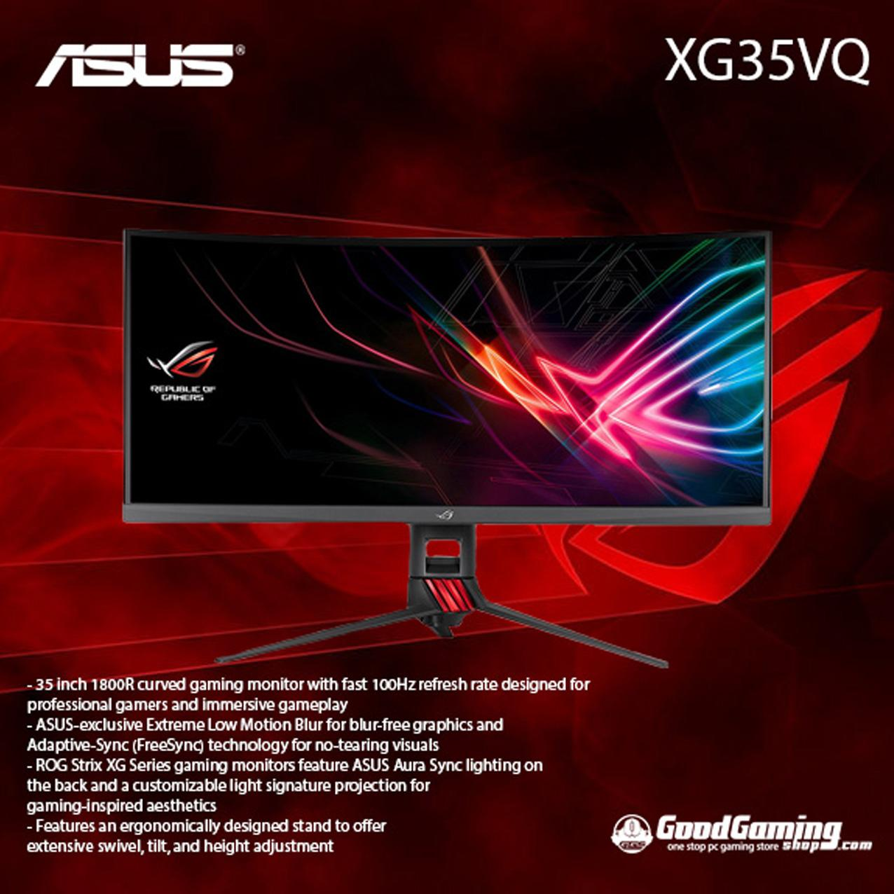 ASUS ROG Strix XG35VQ 35″ - Curved Gaming Monitor