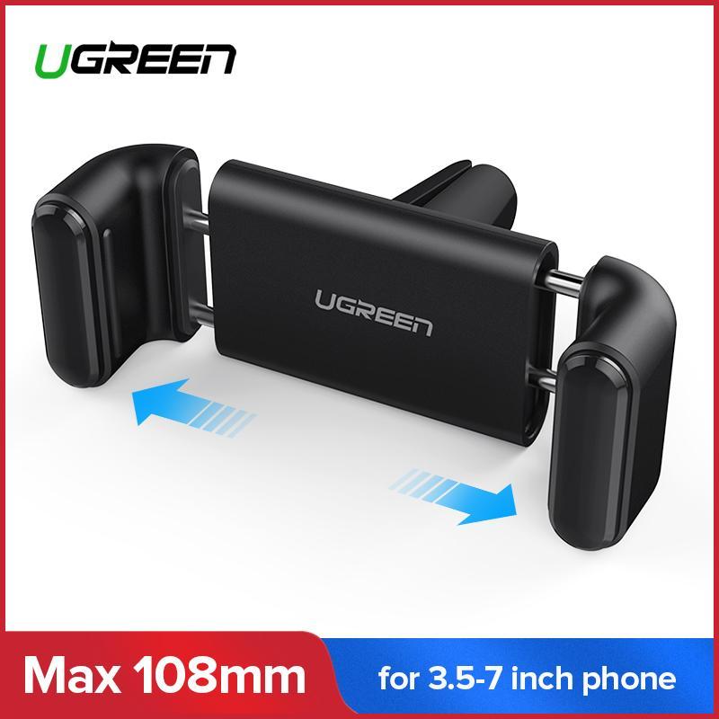 UGREEN Car Handphone Holder Universal Smartphone Mobile Phone Adjustable Penahan Ventilasi Udara Mobil Cradle Untuk Saya