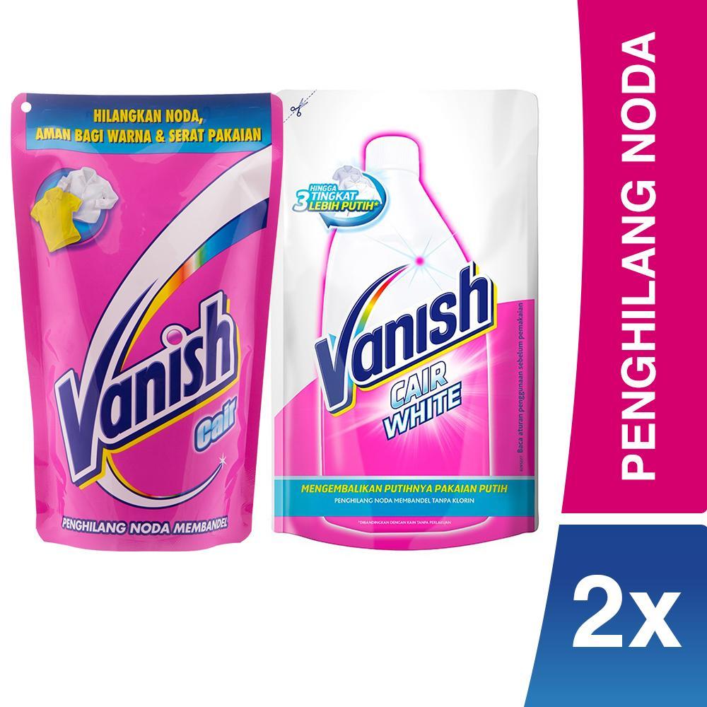 Vanish Liquid 450mL + Vanish White 450mL