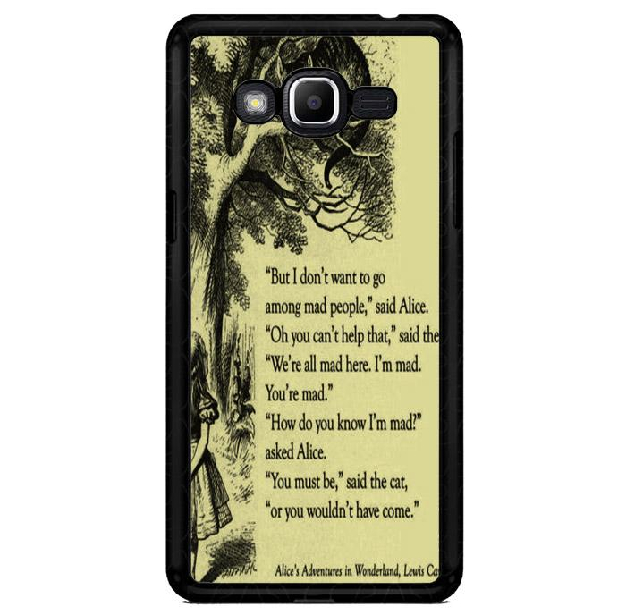 Alice In Wonderland V0660 Samsung Galaxy J2 Prime Custom Hard Case