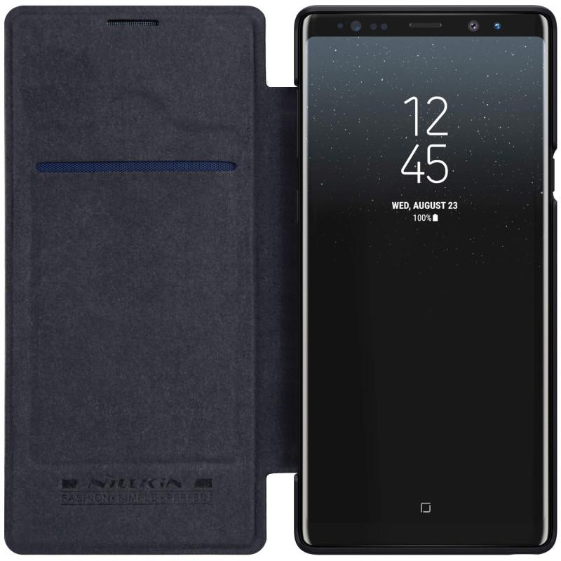 Nillkin Original Qin Series Leather case for Samsung Galaxy Note 9 - Hitam