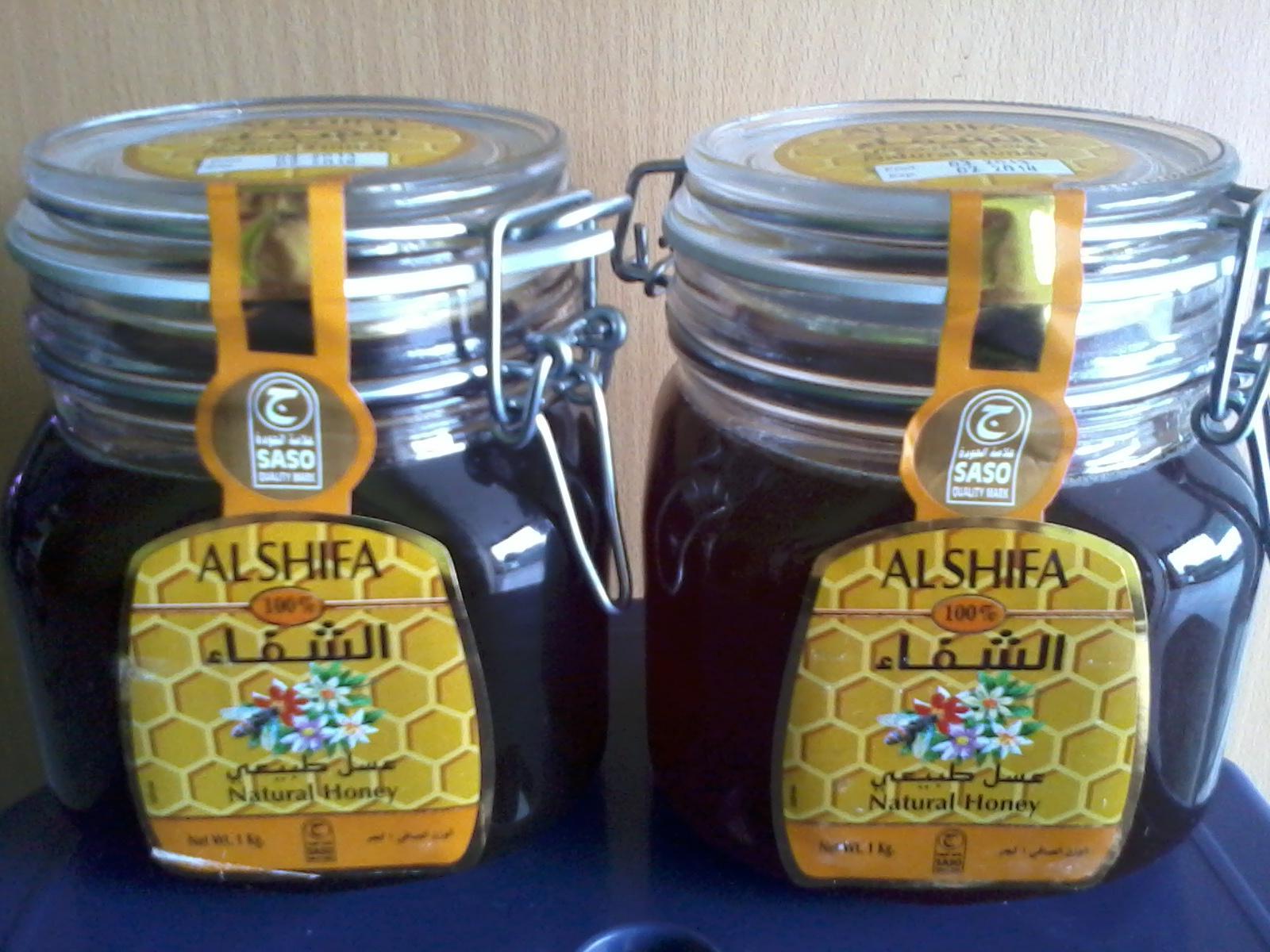 Harga Madu Asli Al Shifa Kemasan 1 Kg Arab Alshifa Natural Honey Kawat Genzahealth