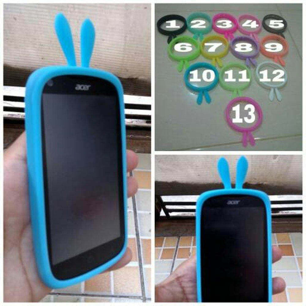 Buy Sell Cheapest Ion Rubber Bumper Best Quality Product Deals Pelindung Karet Bemper Depan Mobil Black Ring Case Bunny Glow Cover Kelinci Mickey Hello Kitty Ok Rabbit Bb Smartphone Samsung
