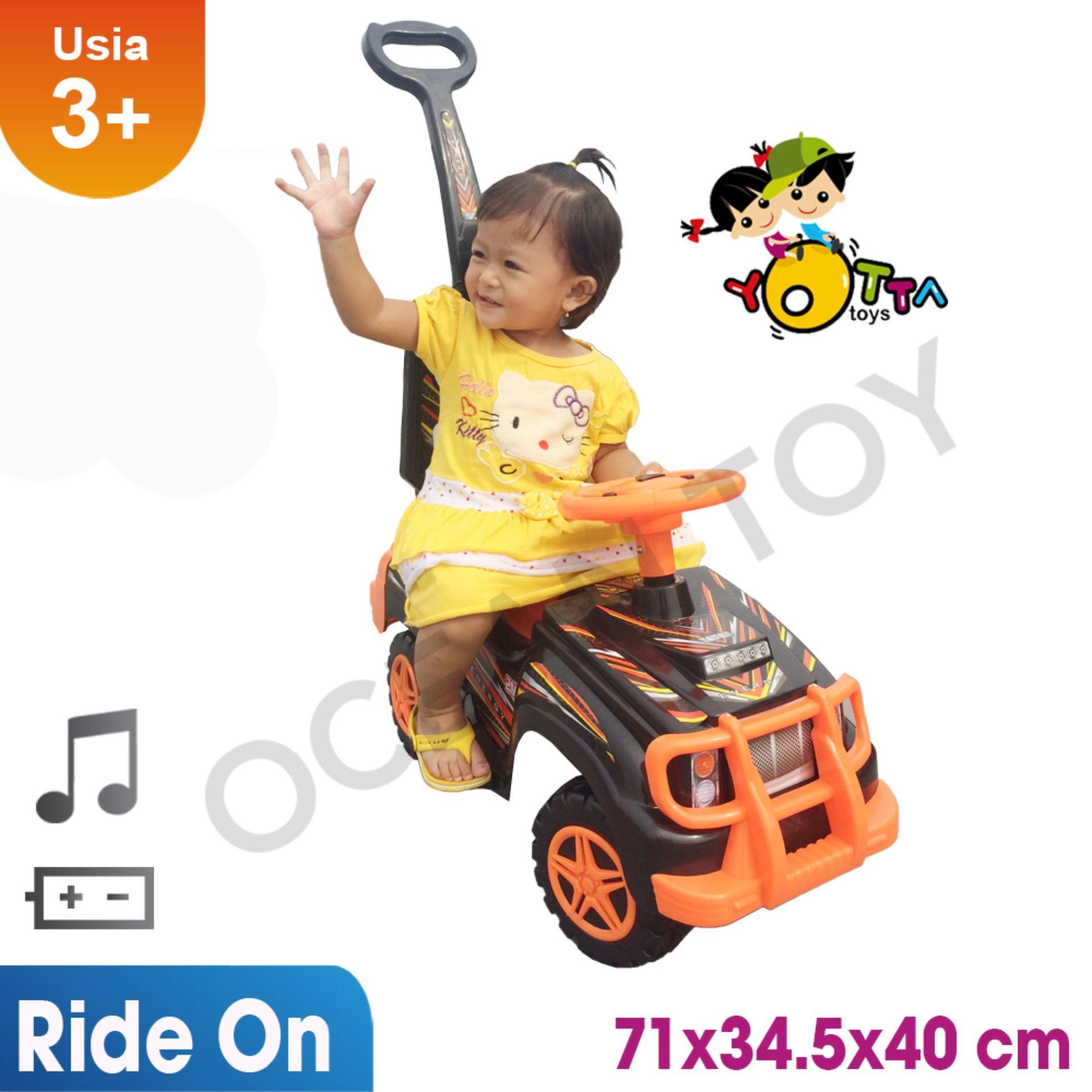 Ride On / Mainan Ride On / Khusus Jabodetabek Mainan Anak Mobil Orange Energy By Ocean Toy.