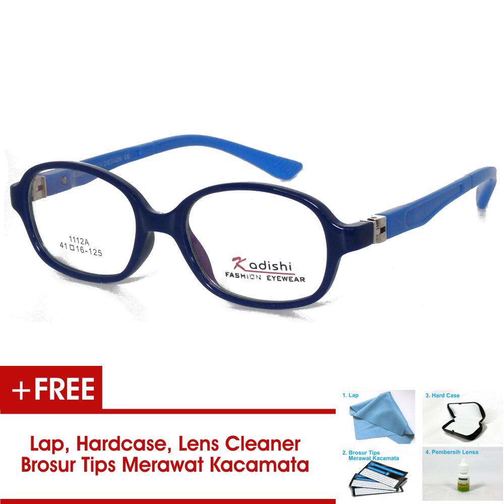 Frame Kacamata Anak FKIDS 1112A Biru Bisa Dipasang Lensa Minus Di Optik Terdekat