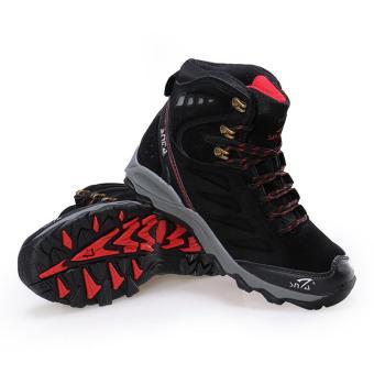 Pencarian Termurah Sepatu Gunung Snta 488 Black Red Hiking / Boot / Outdoor / Motor -