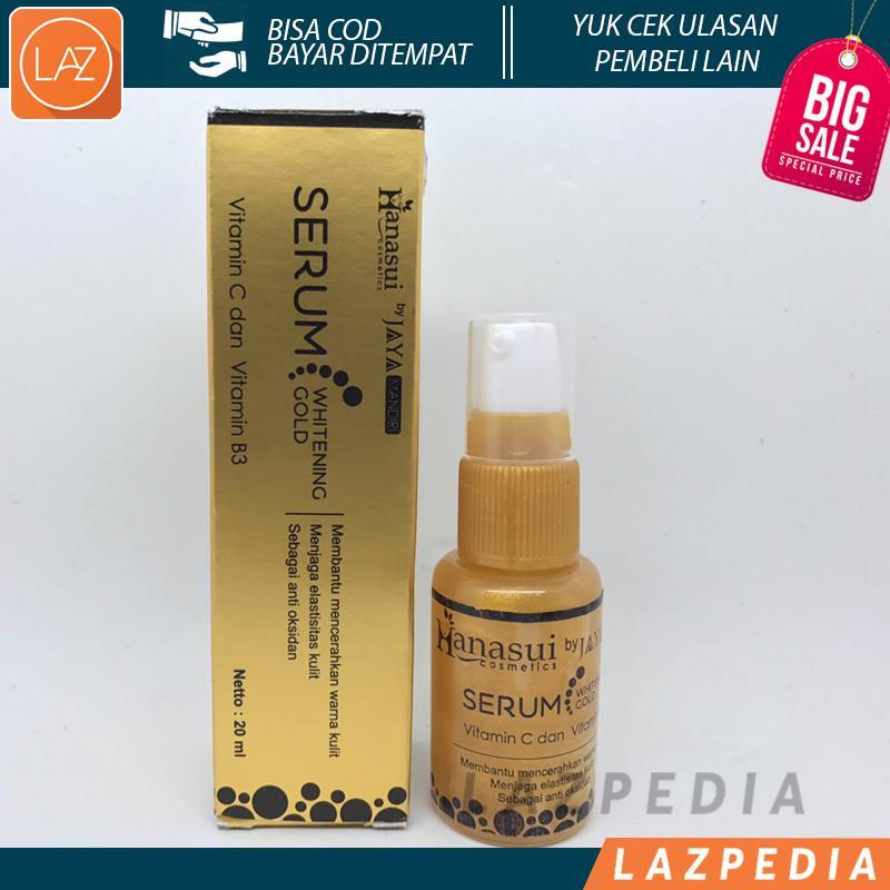 Laz COD - Whitening Serum Gold Hanasui ORIGINAL BPOM - Memutihkan Wajah Secara Alami dan Hasil Cepat - Lazpedia