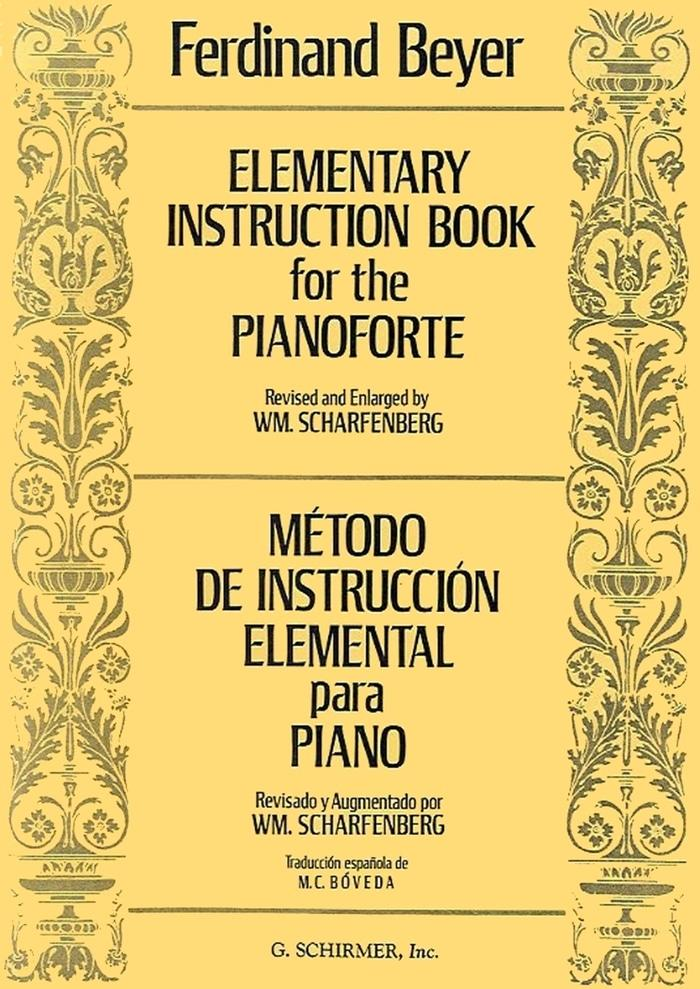 Buku Piano Beyer - Elementary Instruction Book