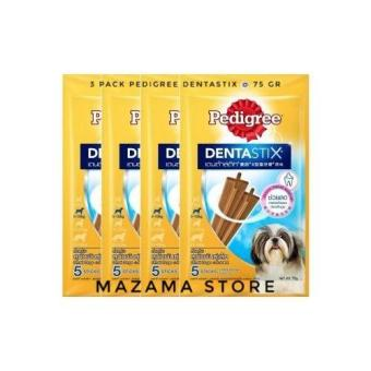 Pencarian Termurah 3 Pack Pedigree Dentastix Treat for Small Dog 75 Gr / Pembersih Gigi Dan