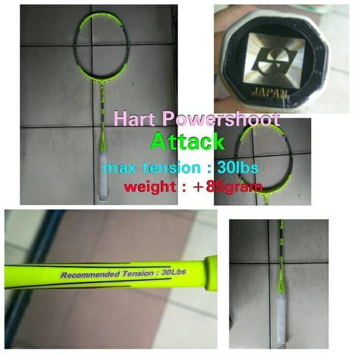 HOT PROMO!!! raket badminton Hart powershoot Pro Attack (Stabilo) New ! - Z9uCjS