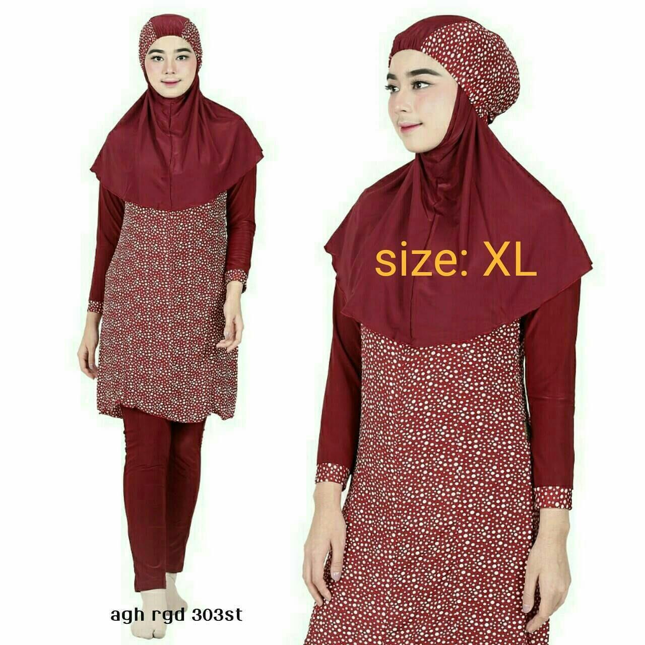 Baju renang muslimah XL