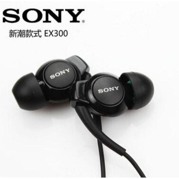 Sony MDR-EX300AP Earphones Super Bass - Hitam