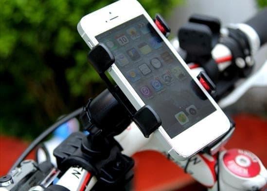 HARGA SPESIAL!!! Holder HP Sepeda Motor Setang Universal Bike lazypod mount smart phone - HcX4wq