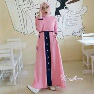 BIG PROMO - SUPER MURAH tya dres Fashion Shop mugfa Dress Gamis Casual  Gamis Tahun Ini 5a34bc51e2