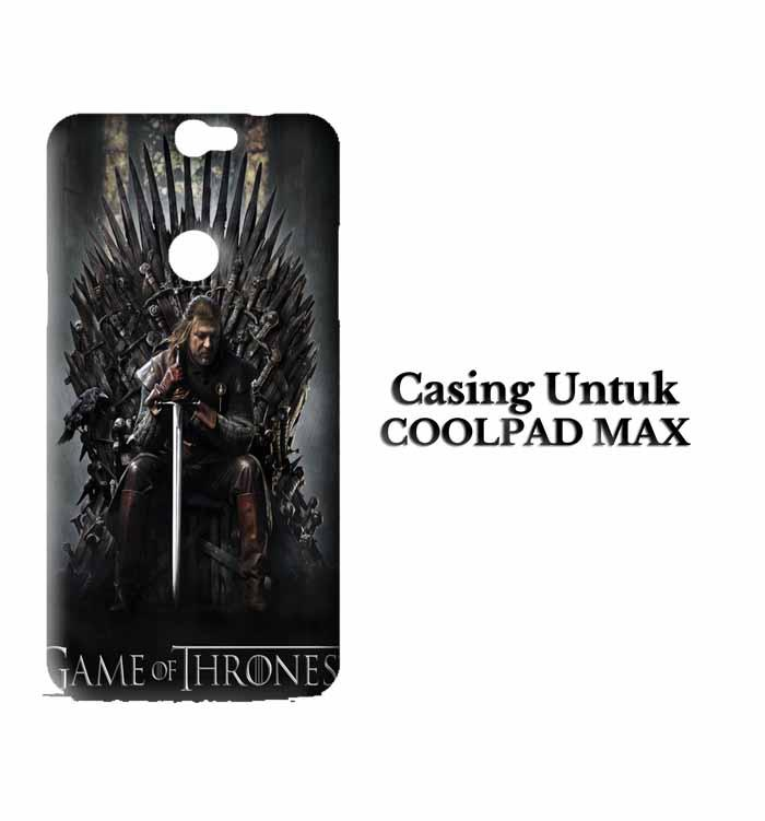Casing Coolpad Max game of thrones inspired Custom Hard Case Cover