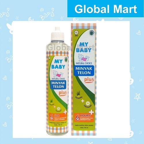 My Baby Minyak Telon Plus 150ml