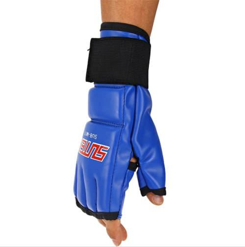 BEST SELLER!!! Sarung Tangan Boxing Muay Thai PU Leather - ljuioH