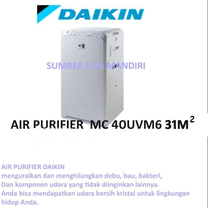 AIR PURIFIER DAIKIN MC40UVM6 31M2