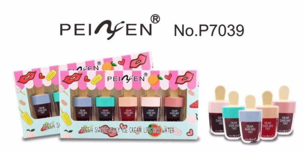 Mesh PNF ICE TINT - Etude Dear Darling Tint Fresh Sweet Jelly Ice Cream Lipstick Water 1 box - 5 pcs