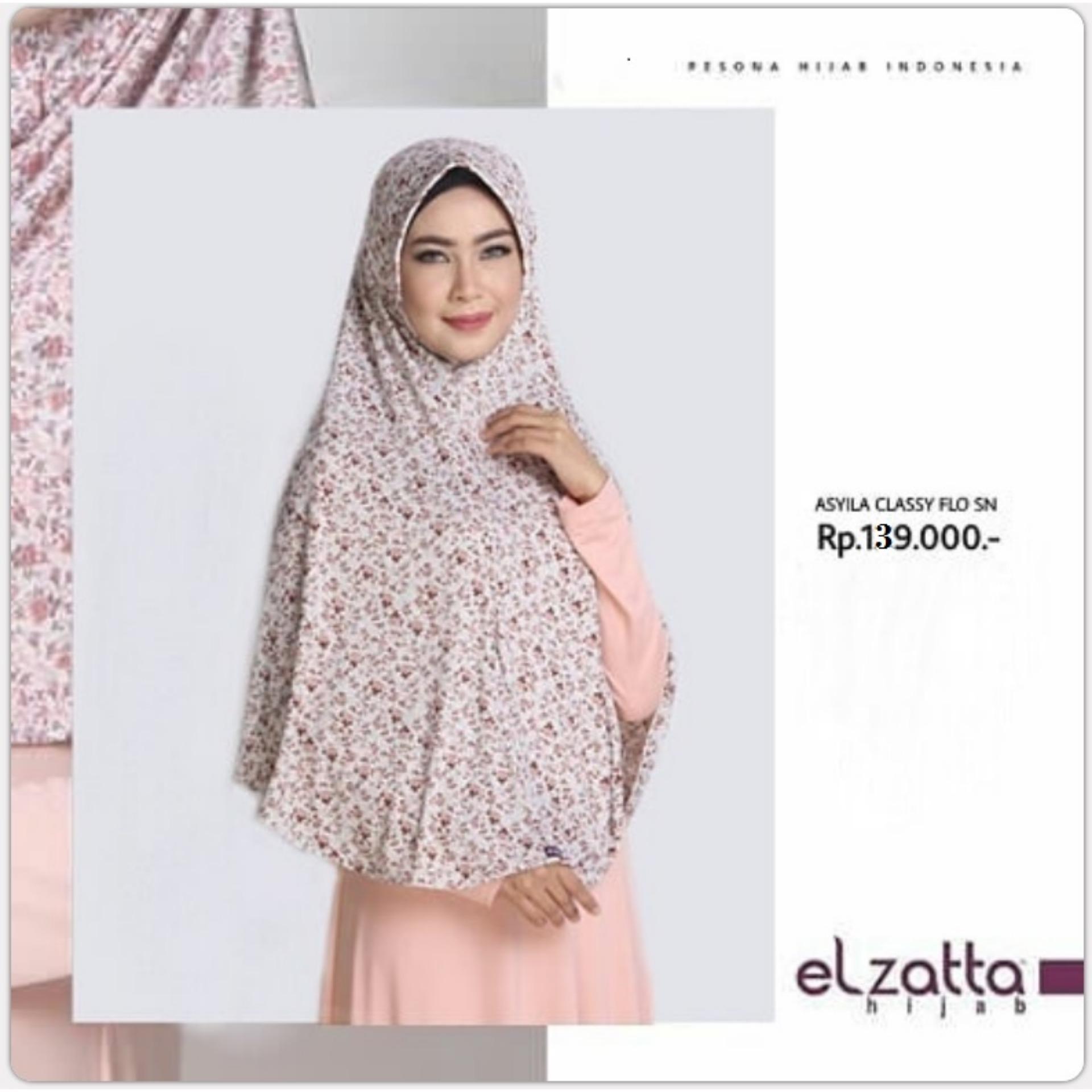 Asyila Classy Flo SN Jilbab Elzatta Hijab Syari