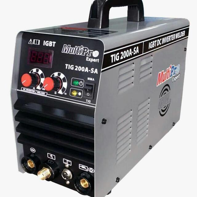 Mesin Las Argon 200A (450 Watt) Multipro TIG 200A-SA - Bisa MMA